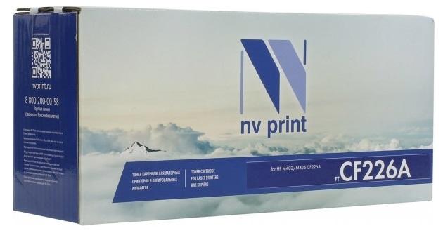 Фото - Картридж NV Print CF226A худи print bar шторм