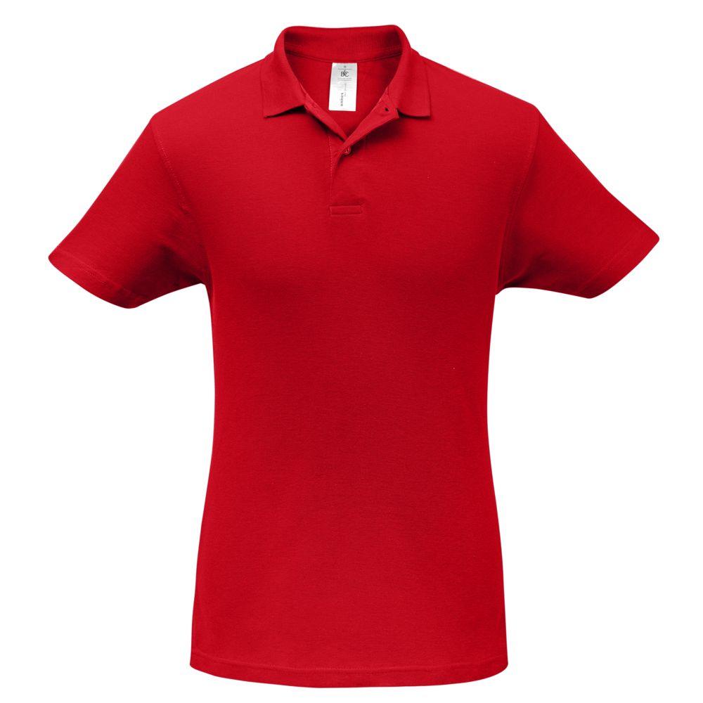 Рубашка поло ID.001 красная, размер S фото