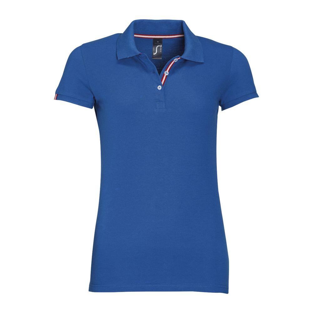 Рубашка поло PATRIOT WOMEN ярко-синяя, размер M фото