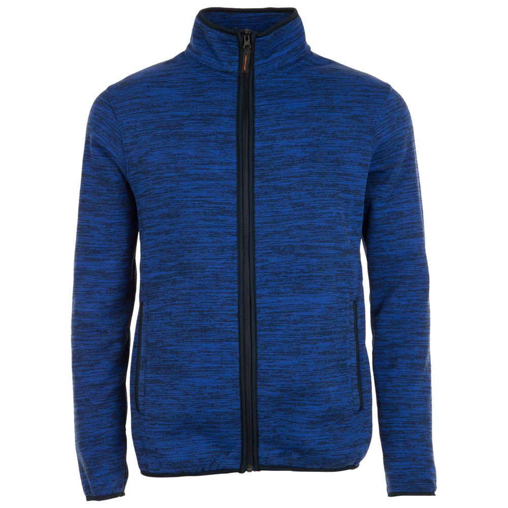 цена Куртка флисовая TURBO синий/темно-синий, размер XXL онлайн в 2017 году