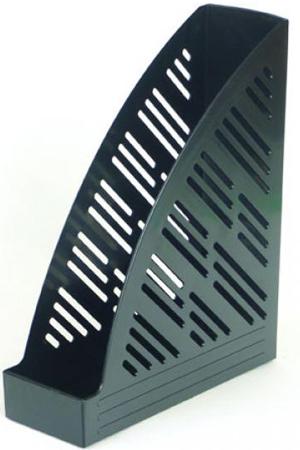 Вертикальный накопитель Attache 85мм черный.