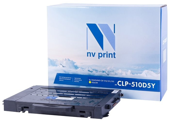 Фото - Картридж NV Print CLP-Y510D5 картридж nv print clp y510d5