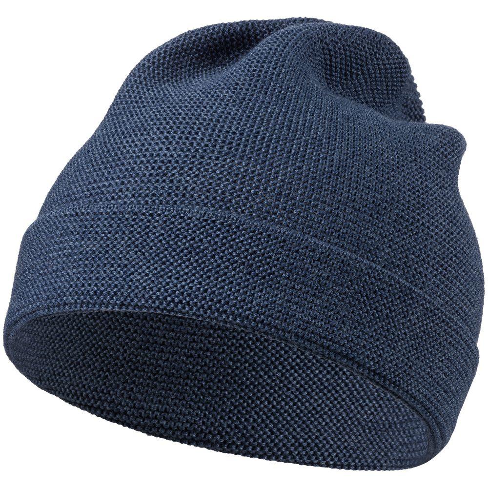 Шапка Windy Rose, синяя шапка brugge синяя