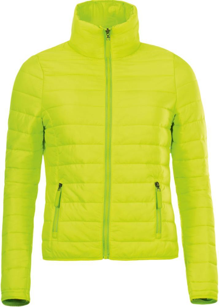 пуховик женский puma 70 30 480 down jacket цвет молочный 85166611 размер m 44 46 Пуховик легкий женский RIDE WOMEN зеленое яблоко, размер M