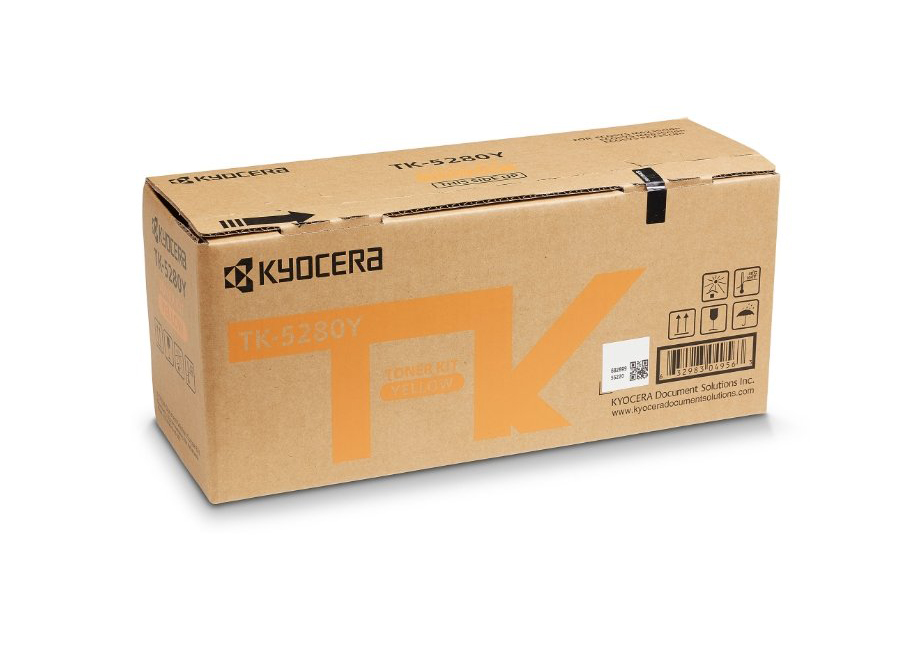 Фото - Тонер-картридж Kyocera TK-5280Y для P6235cdn/M6235cidn/M6635cidn тонер картридж kyocera tk 3060 для m3145idn m3645idn