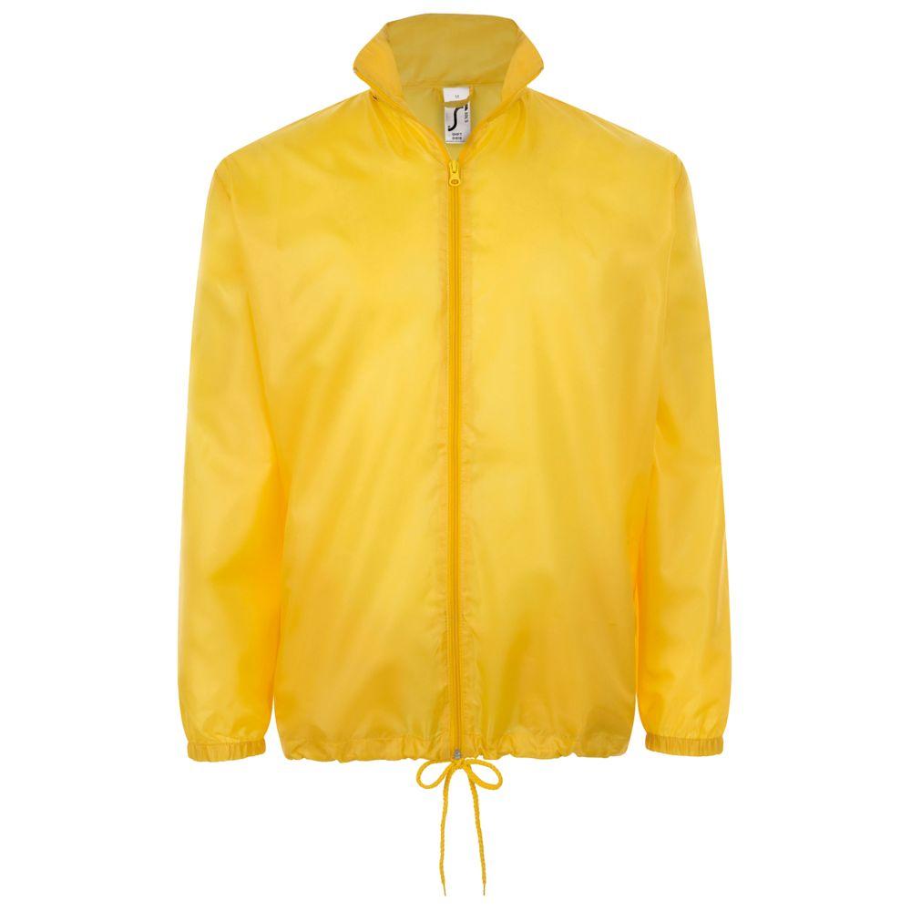 цена на Ветровка унисекс SHIFT желтая, размер XL