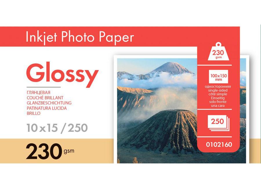 Фото - Lomond для струйной печати, A6, 230 г/м2, 250 листов, односторонняя, глянцевая (0102160) бумага lomond a6 0102082 230 г м2 500 лист
