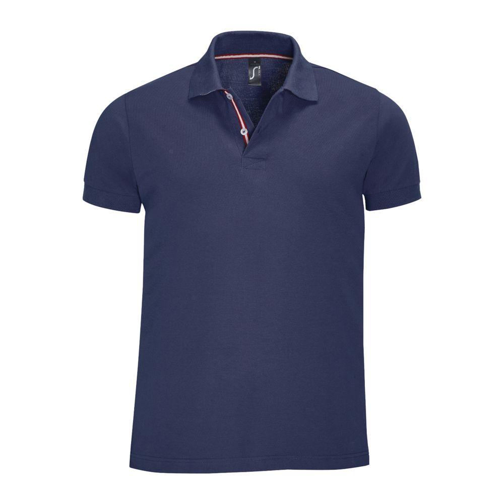 Рубашка поло мужская PATRIOT темно-синяя, размер M рубашка поло мужская patriot темно синяя размер s