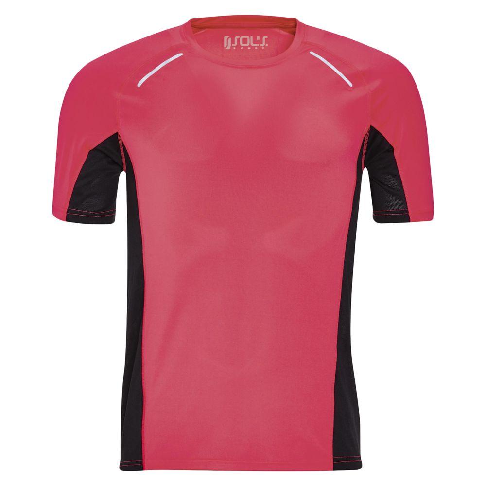 Футболка SYDNEY MEN, розовый неон, размер S фото