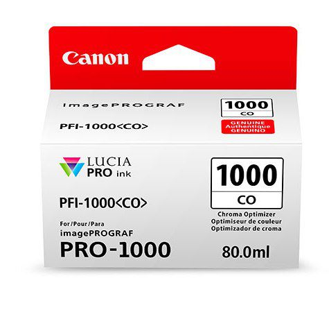 Фото - Canon PFI-1000CO Chroma Optimizer 80 мл (0556C001) картридж canon pgi 72co chroma optimizer 6411b001