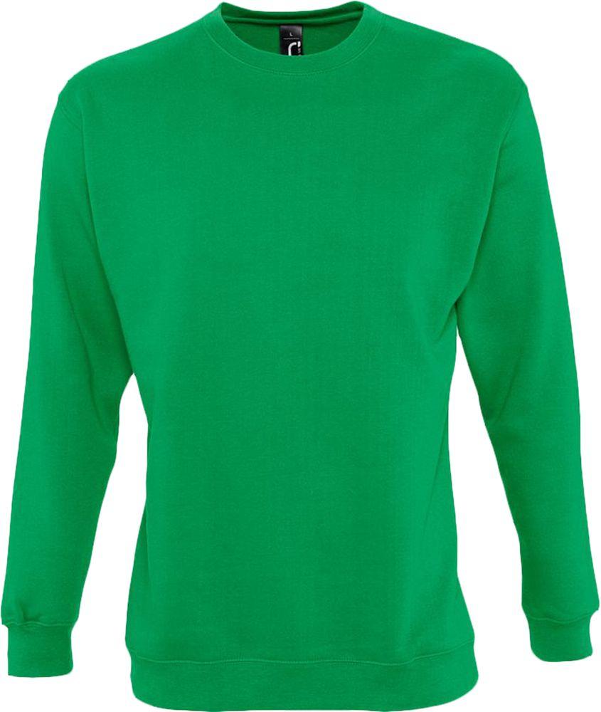 Толстовка NEW SUPREME 280 ярко-зеленая, размер S