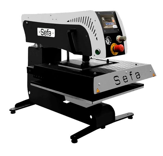 Фото - SEFA Rotex Air Lite стол с роликами для термопрессов sefa серий eclam clam rotex logo tab 98 lite r