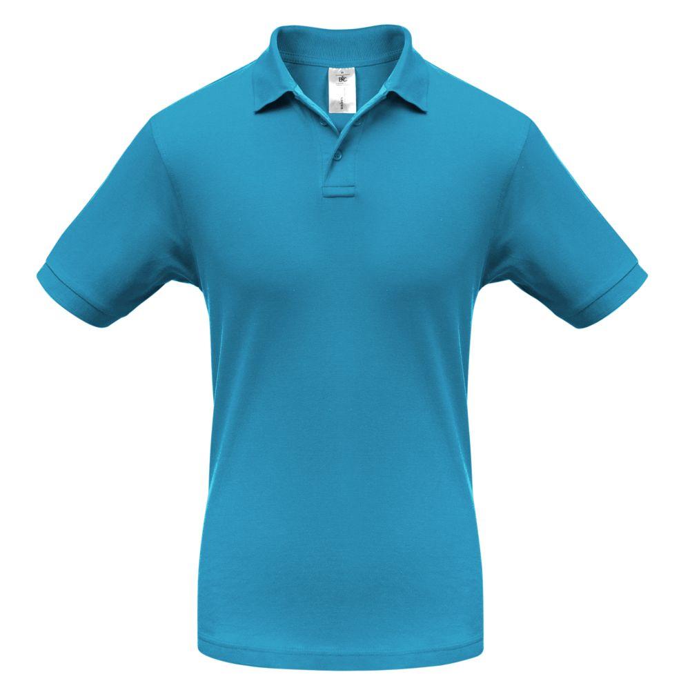 Рубашка поло Safran бирюзовая, размер L