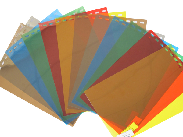 Обложки пластиковые, Прозрачные без текстуры, A3, 0.18 мм, Синий, 100 шт