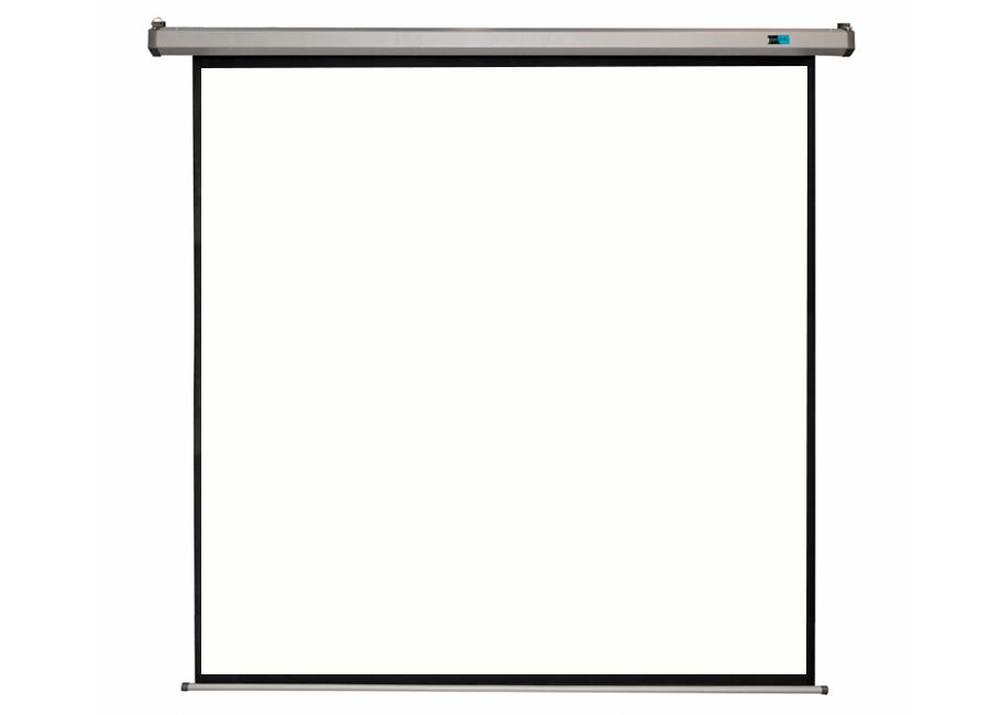 Cinema Motoscreen FG Pro 100 180x180 см (серый корпус)