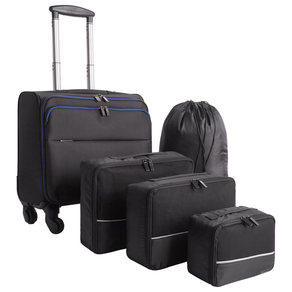 цена Набор inTravel: чемодан и сумки онлайн в 2017 году