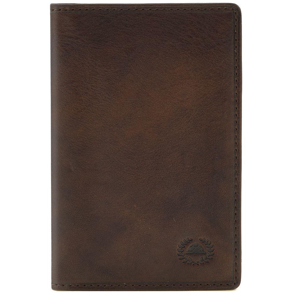Обложка для автодокументов и паспорта Vintage, коричневая