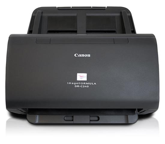 imageFORMULA DR-C240 (0651C003) сканер canon dr c240 цветной двусторонний 45 стр мин adf 60 high speed usb 2 0 a4 0651c003