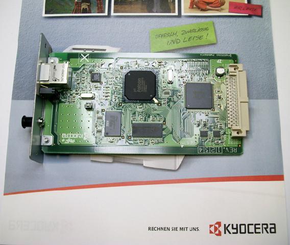 Сетевая карта Kyocera IB-33 сетевая карта kyocera ib 33 10base t 100base tx для taskalfa 1801 2201