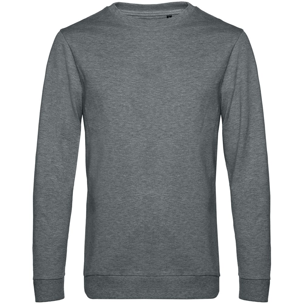 Свитшот унисекс Set In, темно-серый меланж, размер S комплект нижнего белья let s go размер 68 серый меланж темно серый