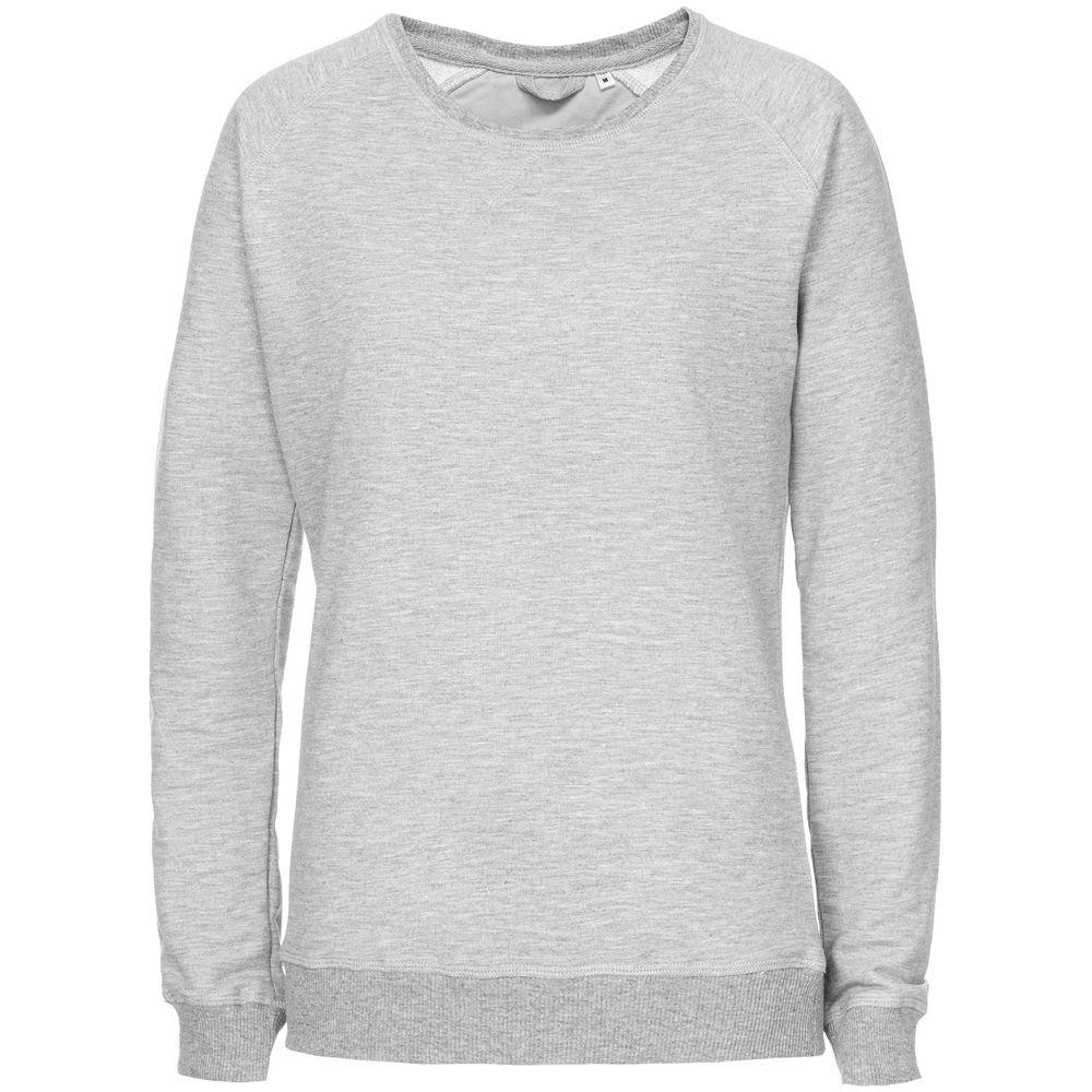 Свитшот Kulonga Raeglan женский серый меланж, размер S халат женский essential серый размер s