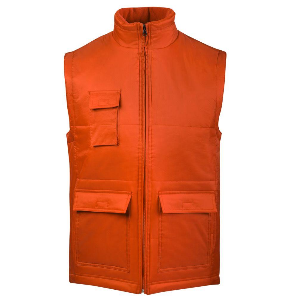 Жилет WORKER оранжевый, размер S фото