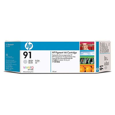 HP Vivera 91 Light Gray 775 мл (C9466A) hot sales 80 printhead for hp80 print head hp for designjet 1000 1000plus 1050 1055 printer