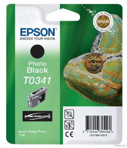 Фото - Картридж с черными фото чернилами T0341 для SP2100 (C13T03414010) картридж с черными фото чернилами t0961 c13t09614010