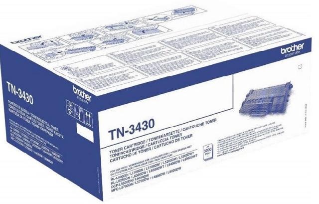 Тонер-картридж TN-3430 тонер brother tn 241bk
