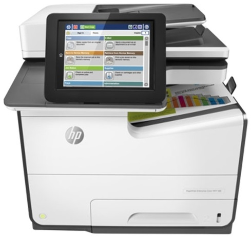 МФУ HP PageWide Enterprise 586dn (G1W39A) фото