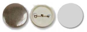 Фото - Заготовки для значков d25 мм, пластик/булавка, 400 шт заготовки для значков button boss d25 мм 500 шт