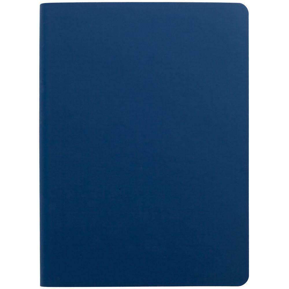 Ежедневник Flex Shall, недатированный, синий недорого