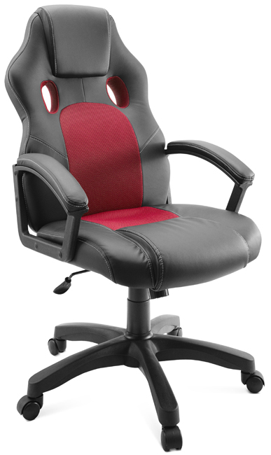 Кресло для геймеров Ягуар, красное