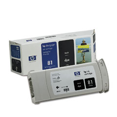 HP DesignJet 81 Dye Black 680 мл (C4930A) 1pcs black for hp 81 printhead remanufactured c4950a for hp81 print head for hp designjet 5000 5000ps 5500 5500ps