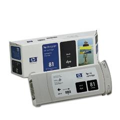 HP DesignJet 81 Dye Black 680 мл (C4930A) print head c4950a c4951a c4952a c4953a c4954a c4955a for hp81 for hp 81 printhead for hp designjet 5000 5000ps 5500 5500ps