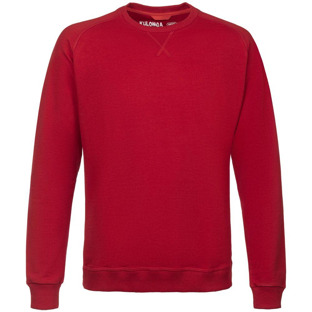 Свитшот мужской Kulonga Sweat красный, размер S