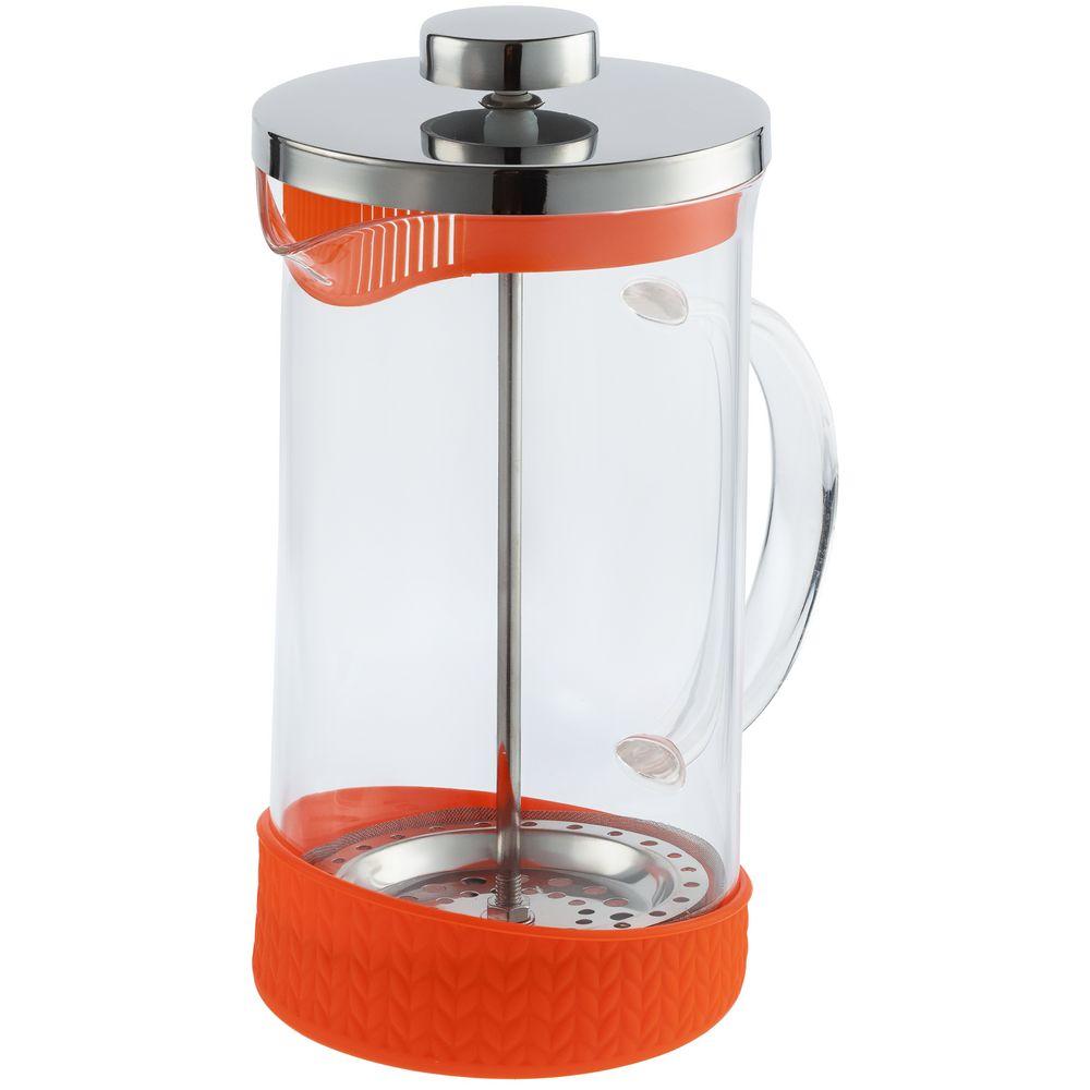 Френч-пресс Suomi, оранжевый френч пресс attribute flavor 350мл