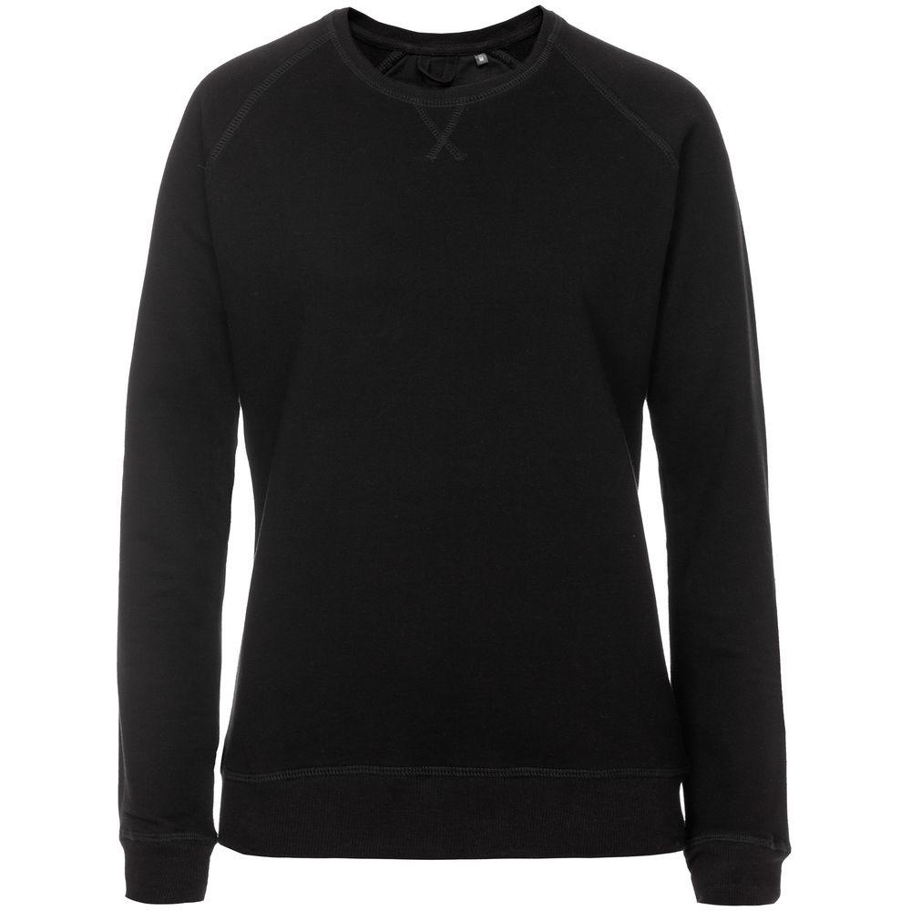 комплект домашний женский vienetta s secret цвет розовый 711026 5167 размер 3xl 54 Свитшот Kulonga Raeglan женский черный, размер 3XL
