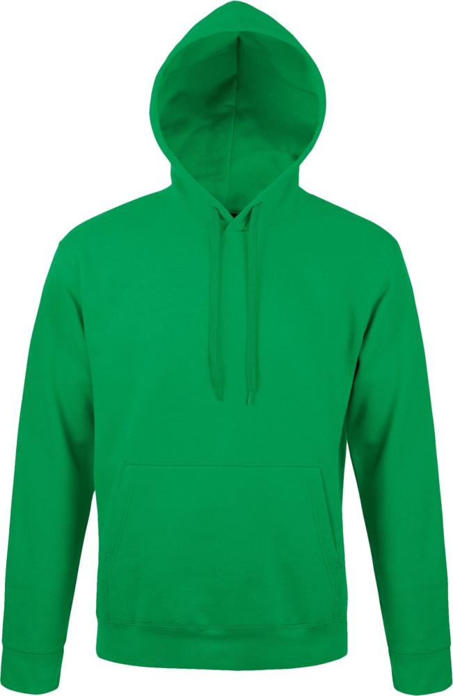 Толстовка с капюшоном Snake 280, зеленая, размер L фото