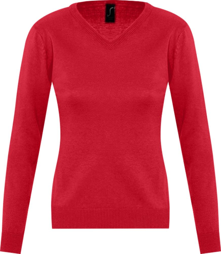 Свитер женский GALAXY WOMEN красный, размер XL
