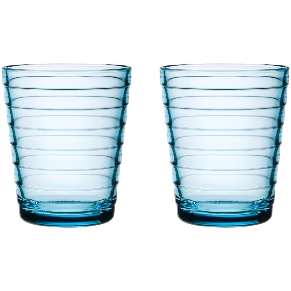 Фото - Набор малых стаканов Aino Aalto, голубой regalissimi набор из 2 х металлизированых бантов цветков малых