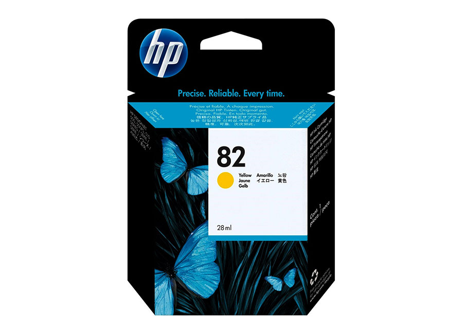 HP 82 Yellow 28 мл (CH568A)