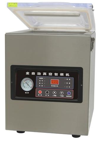 Настольная вакуум-упаковочная машина HL DZQ-500T (нерж., газ) фото