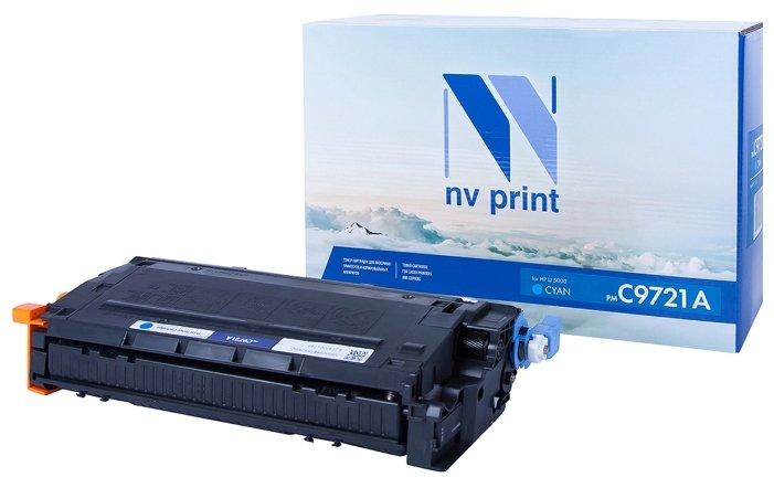 Картридж NV-C9721A Cyan удлинитель светозар sv 55035 5 3 розетки 5 м