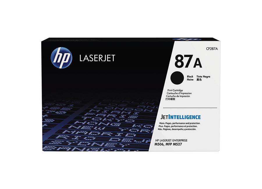 Тонер-картридж HP 87A черный (CF287A)