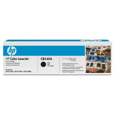 Принт-картридж HP CB540A фото