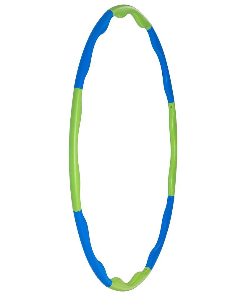 Обруч массажный Hula Hoop, сине-зеленый