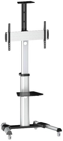 Мобильная стойка для панелей и телевизоров DSM-P64C универсальная мобильная стойка ums 4 для интерактивных досок с крепежом для укф проекторов