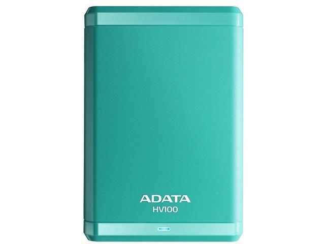 Внешний жесткий диск HV100 1 ТБ (AHV100-1TU3-CBL), голубой стоимость