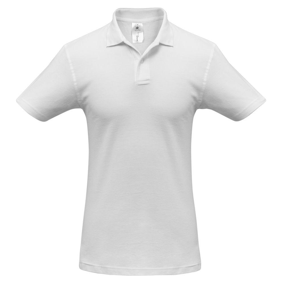 цена Рубашка поло ID.001 белая, размер S онлайн в 2017 году